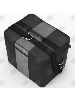 Автомобильная сумка в багажник. Цвет чёрный-серый