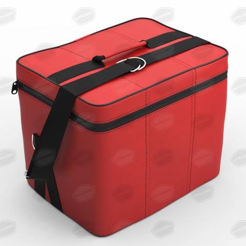 Автомобильная сумка в багажник. Цвет красный