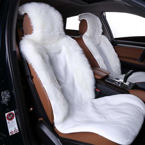 Накидка на сиденье автомобиля из искусственного меха.Ворс комбинированный