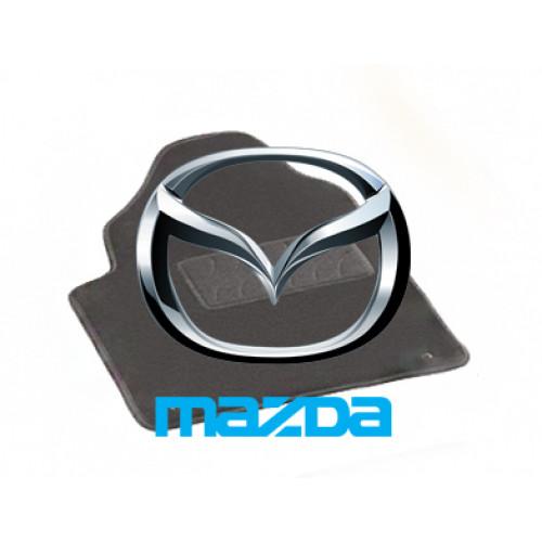 Ворсовые коврики LUX для Mazda
