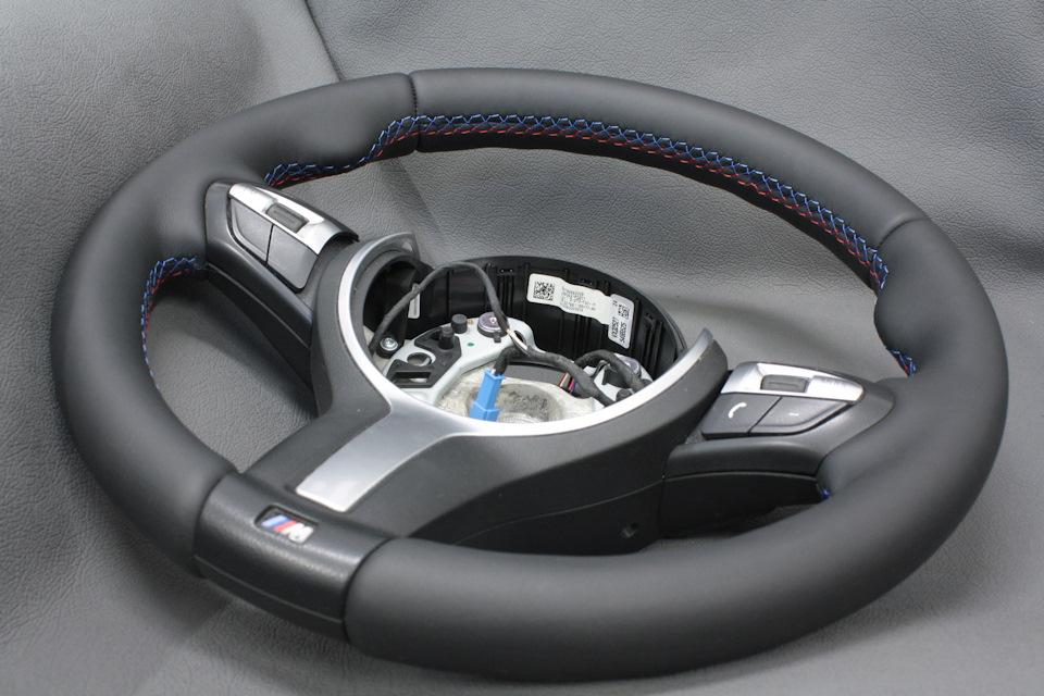 Перетяжка руля на BMW