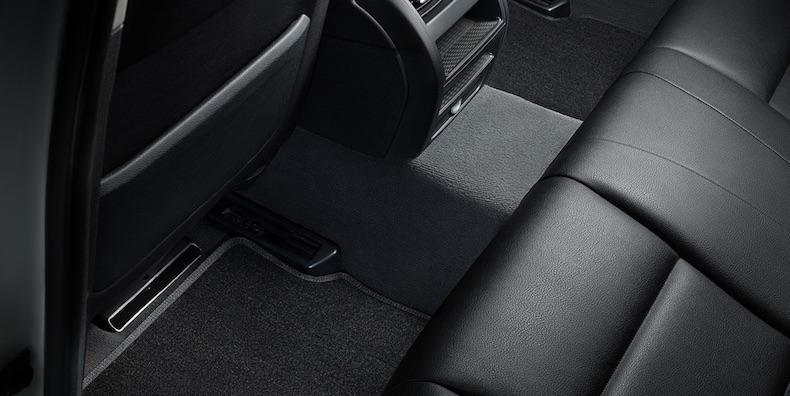 Ворсовый коврик Люкс для пассажиров на заднем сиденье